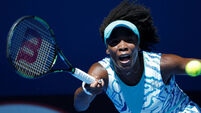 Venus Williams shocked on day of Dubai surprises