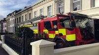 Pensioner and teenager held after rampage in fire engine