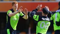 Ireland march on after UAE scare