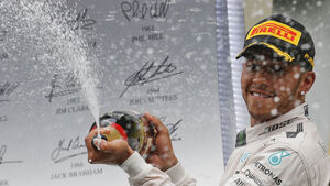 Lewis Hamilton extends lead over Rosberg