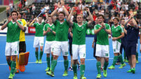 Ireland stun England to claim hockey bronze but must wait to discover Olympic fate