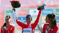 Nicolas Roche remains third at Vuelta as Peter Sagan takes stage in Malaga