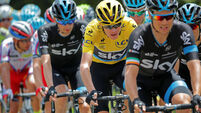 Nicolas Roche named on Sky squad for Vuelta