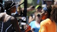 Serena on course to be best ever, says Venus Williams