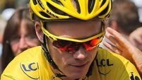 Chris Froome keeps yellow jersey despite narrow Sky loss
