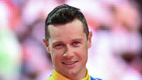 Nicolas Roche climbs standings on Nelson Oliveira's big day