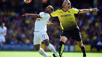 Troy Deeney relief as Watford edge home