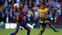 Alan Pardew hails Wilfried Zaha resolve