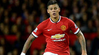 Marcos Rojo injury gives Louis van Gaal headache