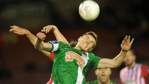 Stunner from Ross Gaynor the catalyst for Cork City to seal semi-final spot