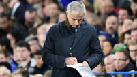 Frustrated Jose Mourinho's self-imposed gag over Diego Costa controversy
