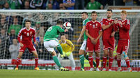Kyle Lafferty snatches point for Northern Ireland