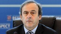Michel Platini confirms payment from Fifa