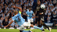 Juventus make light of domestic woes to down Man City
