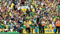 Brave Jack Butland grits teeth to deny Norwich