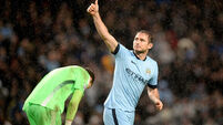 Lampard proves the gift that keeps on giving for City