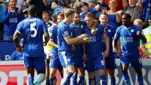 Hero Riyad Mahrez says Foxes must keep up pressure