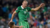 Darron Gibson in race to make crucial Euro qualifiers