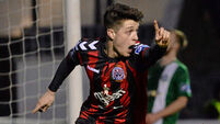 Adam Evans goal keeps Bohs at head of the pack
