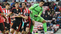 Goalless draw between Sunderland and Fulham 0