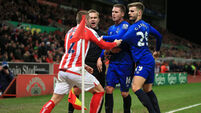 Victor Moses and Mame Biram Diouf on target to Stoke Everton misery