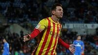 We're in top form, Messi warns Man City