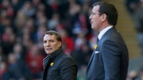Brendan Rodgers: Liverpool should have had a penalty against Blackburn