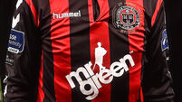 Bohemians top after easy win against Limerick FC