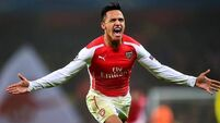 Sanchez sets lofty targets for Gunners