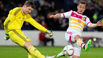 Christophe Berra's late header proves a winner for Scotland