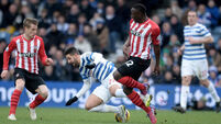 Lady Luck deserts QPR in loss to Southampton