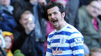 Charlie Austin furious at Joey Barton red card