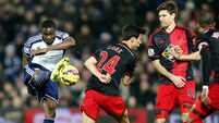 Baggies'relegation fears ease