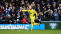 Harry  Kane happy to reach 20-goal target for Tottenham