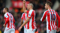 Stephen Ireland seizes Stoke chance