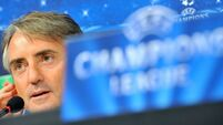 Celtic never give up, warns Mancini
