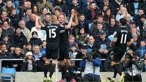 Cork's David Meyler helps Hull to a point at Man City