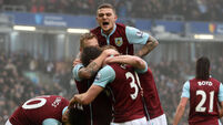 West Brom dig out draw at Burnley