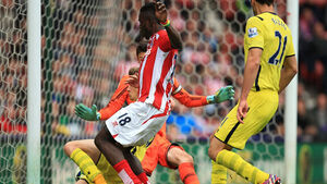 Mark Hughes purrs as Stoke pummel Tottenham