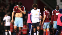 Daley Blind snatches late leveller for Man United at West Ham