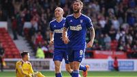Daryl  Murphy's brace proves crucial for Ipswich