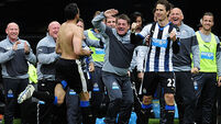 Emotional finale on Tyneside for Newcastle