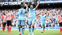 Frank Lampard signs off with trademark goal