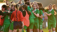 Ireland off to flyer after twin first-half strikes