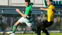 Craig Hyland heroics help Shamrock Rovers hold on