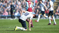 Burnley halt Harry Kane's charge