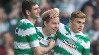 Dedryck Boyata and Stefan Johansen help Celtic to victory