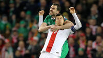 John O'Shea eyes the positives