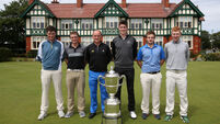 Irish eyes are smiling as five home stars named on Walker Cup 2015 team