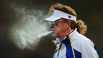 Miguel Angel Jimenez set to challenge Darren Clarke for Ryder Cup captaincy